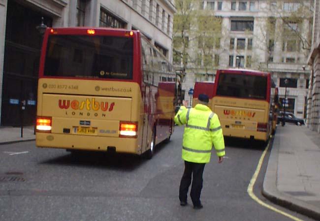 BAFTA event transport coach
