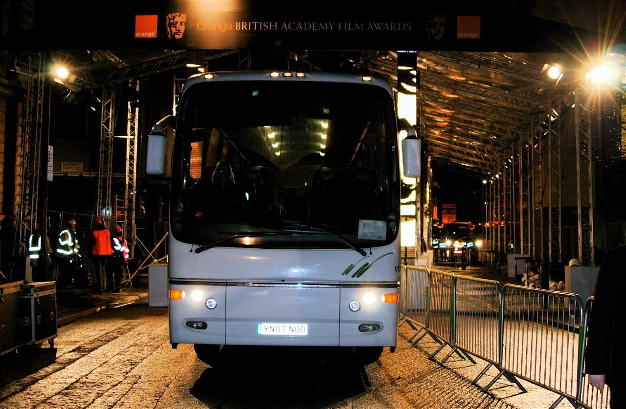Event Transport at BAFTA Films Awards